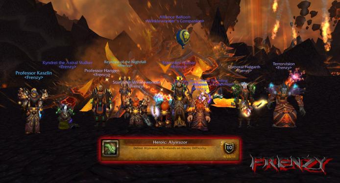 Heroic Alysrazor kill by Frenzy on Doomhammer-EU