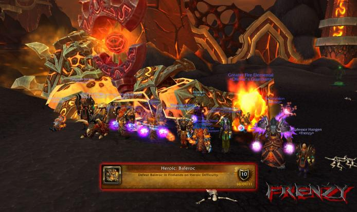 Heroic Baleroc kill by Frenzy on Doomhammer-EU