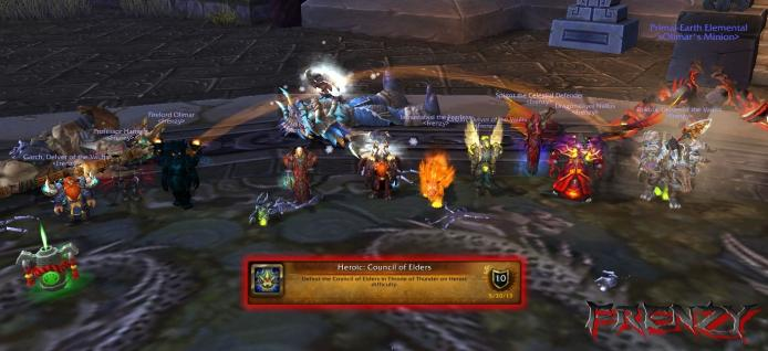 Heroic Council of Elders kill by Frenzy on Doomhammer-EU
