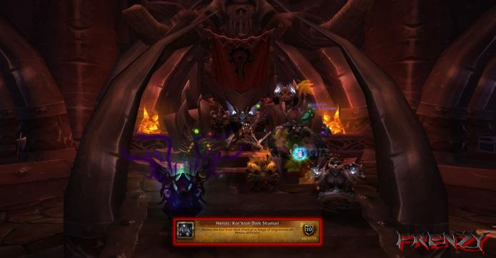Heroic Dark Shaman kill by Frenzy on Doomhammer-EU