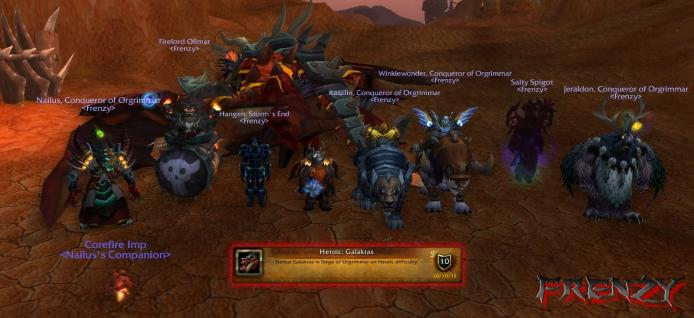 Heroic Galakras kill by Frenzy on Doomhammer-EU