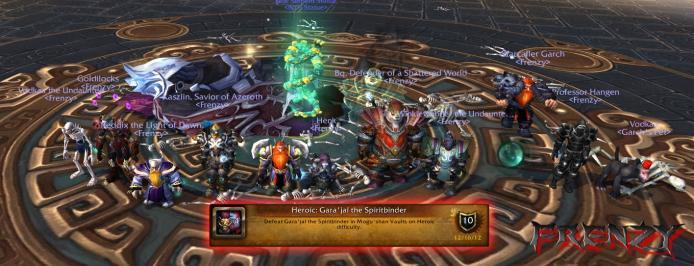 Heroic Gara'jal the Spiritbinder kill by Frenzy on Doomhammer-EU