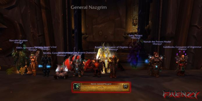 Heroic General Nazgrim kill by Frenzy on Doomhammer-EU