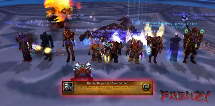 Heroic Hagara kill by Frenzy on Doomhammer-EU
