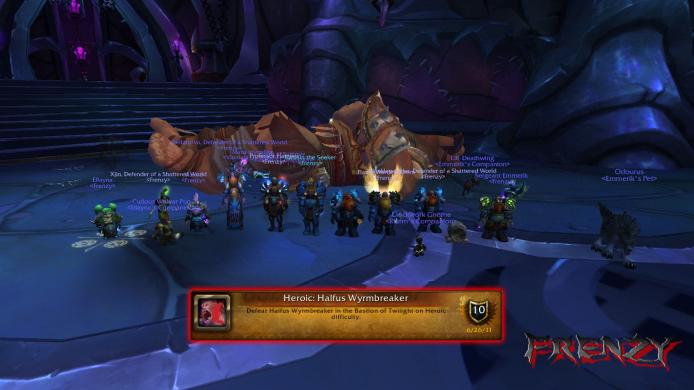 Heroic Halfus Wyrmbreaker kill by Frenzy on Doomhammer-EU