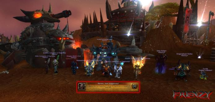 Heroic Iron Juggernaut kill by Frenzy on Doomhammer-EU