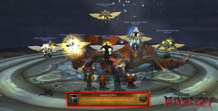Heroic Ji-Kun kill by Frenzy on Doomhammer-EU