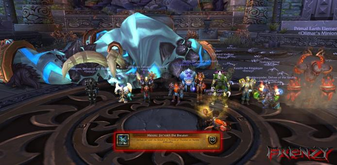 Heroic Jin'rohk kill by Frenzy on Doomhammer-EU