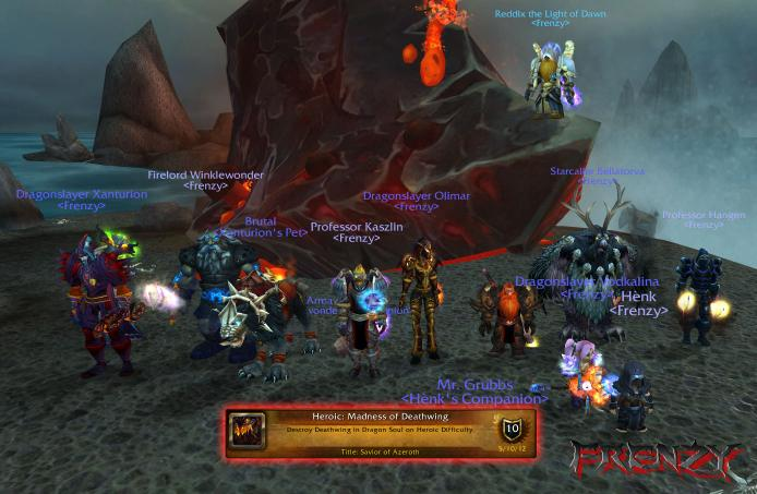 Heroic Madness of Deathwing kill by Frenzy on Doomhammer-EU