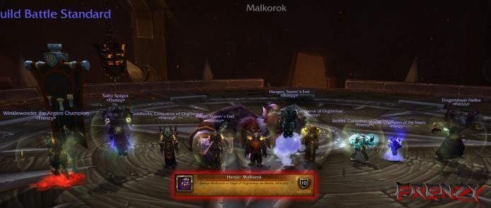 Heroic Malkorok kill by Frenzy on Doomhammer-EU