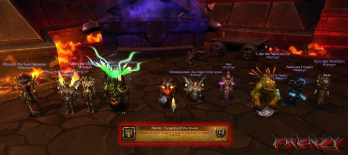 Heroic Paragons of the Klaxxi kill by Frenzy on Doomhammer-EU