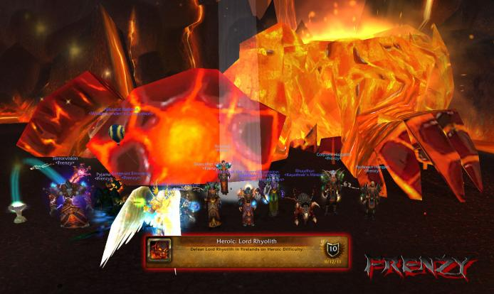 Heroic Lord Rhyolith kill by Frenzy on Doomhammer-EU