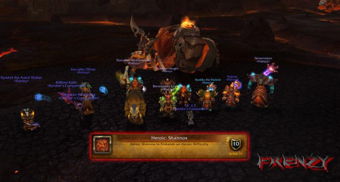 Heroic Shannox kill by Frenzy on Doomhammer-EU
