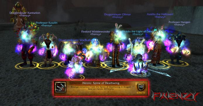 Heroic Spine of Deathwing kill by Frenzy on Doomhammer-EU