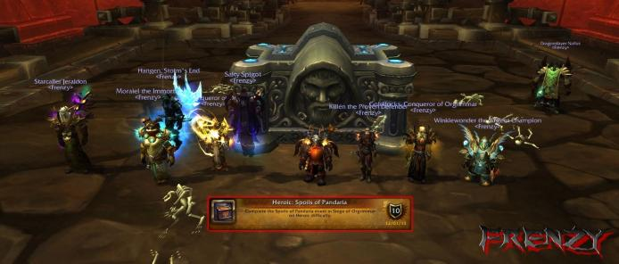 Heroic Spoils of Pandaria kill by Frenzy on Doomhammer-EU