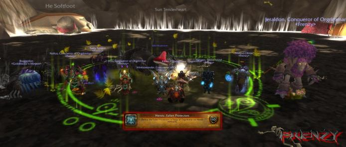 Heroic Fallen Protectors kill by Frenzy on Doomhammer-EU