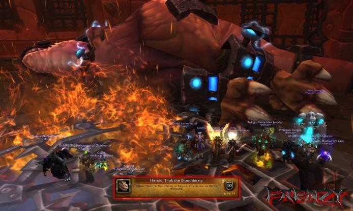 Heroic Thok the Bloodthirsty kill by Frenzy on Doomhammer-EU