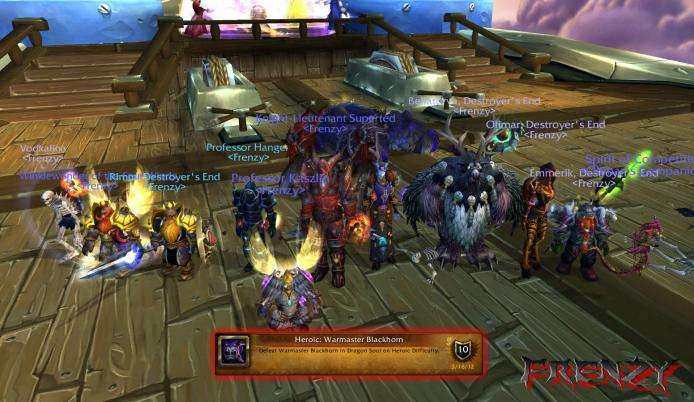 Heroic Warmaster Blackhorn kill by Frenzy on Doomhammer-EU