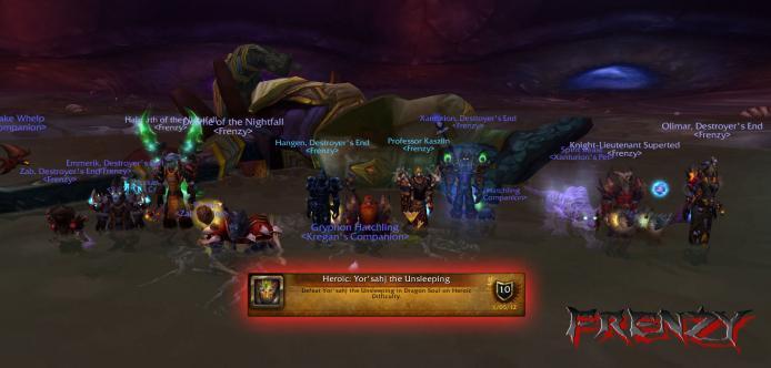 Heroic Yor'sahj kill by Frenzy on Doomhammer-EU