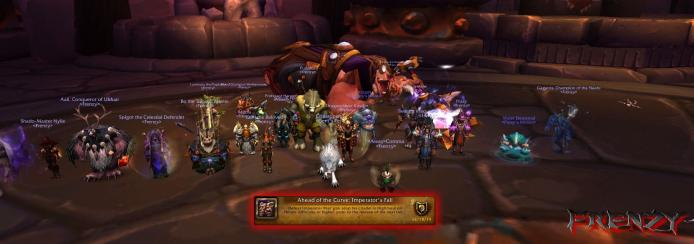 Heroic Imperator Mar'gok kill by Frenzy on Doomhammer-EU
