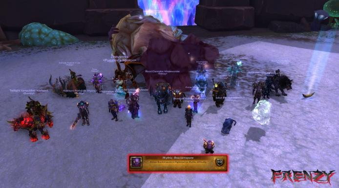 Mythic Brackenspore kill by Frenzy on Doomhammer-EU