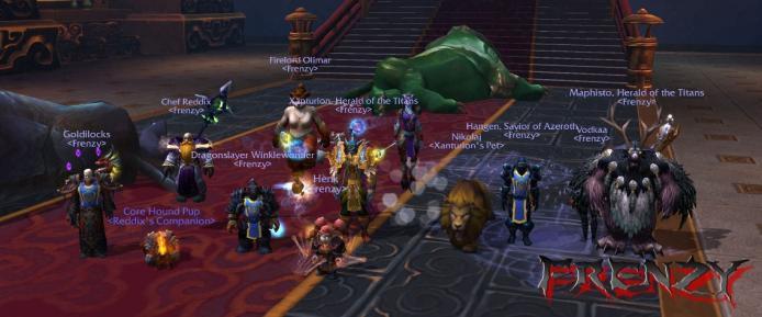 The Stone Guard kill by Frenzy on Doomhammer-EU