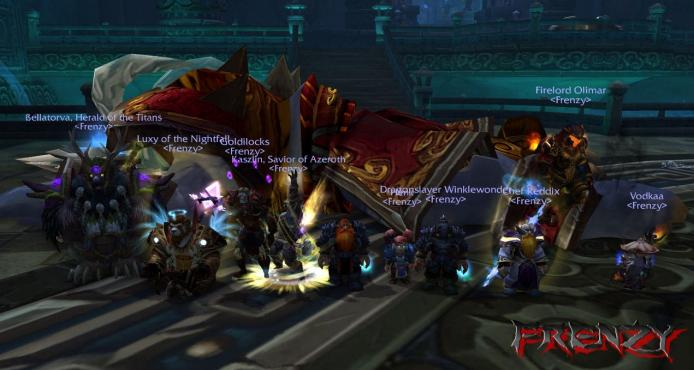 Will of the Emperor kill by Frenzy on Doomhammer-EU